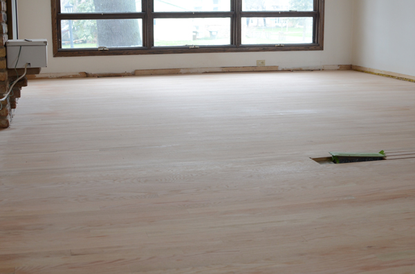 how to refinish wood floors, Ramblings from the Burbs on Remodelaholic