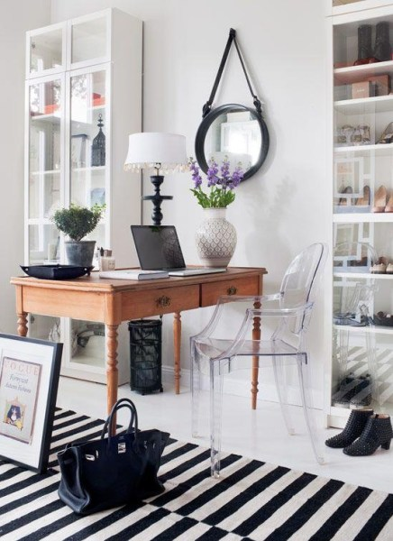 modern home office-study