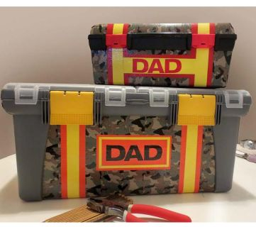 Make Your Own Father's Day Tackle Box