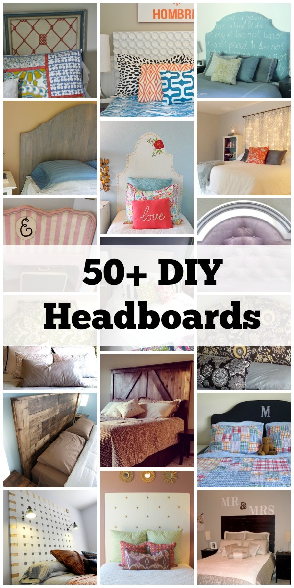 sports shoes 0c9ff 9acd5 Remodelaholic | 50+ DIY Handmade Headboards + Link Party