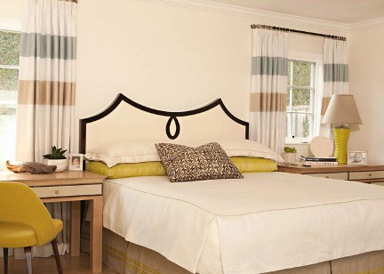 double ogee peaked headboard via Attic Mag