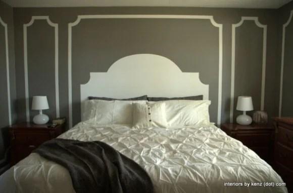 headboard-painted-on-wall-diy-home-decor-blogs
