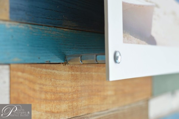 mounting a photo on a plank wall headboard, Pearls Pinstripes and Peanut Butter on Remodelaholic