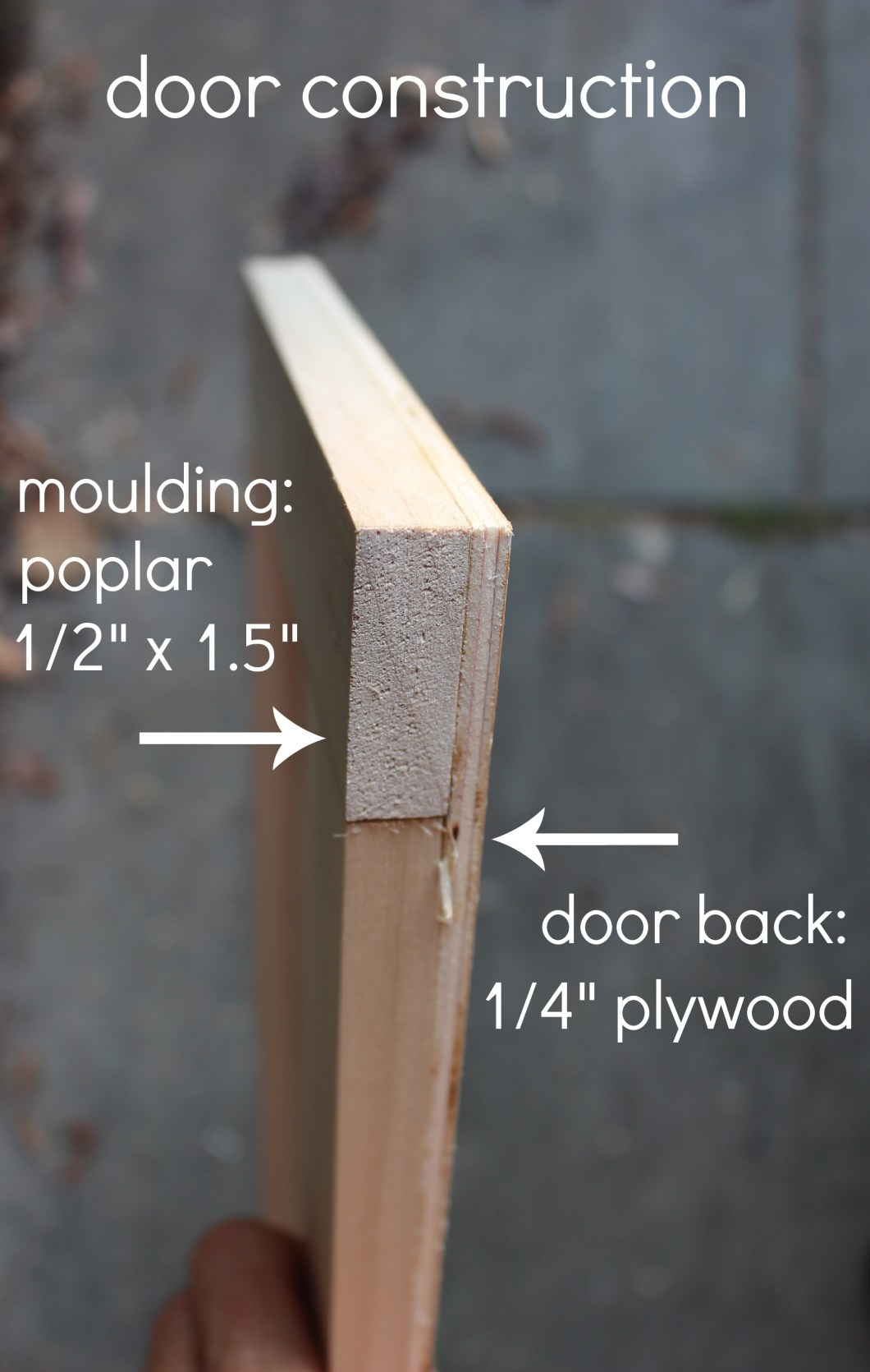 How To Make Easy Cabinet Doors Out Of Plywood Functionalities