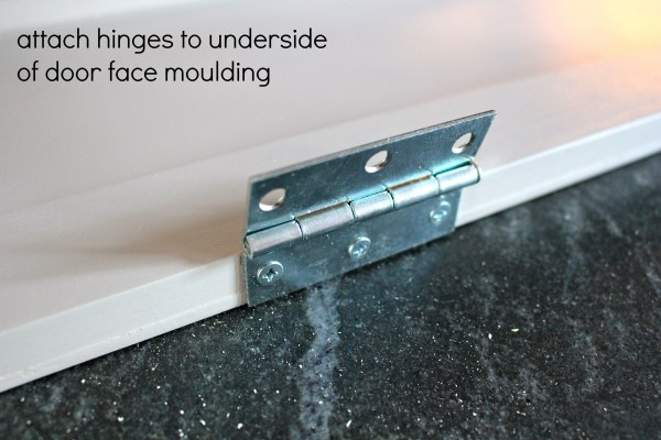 over fridge cabinet hinges