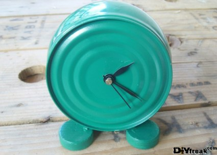 tin can clock