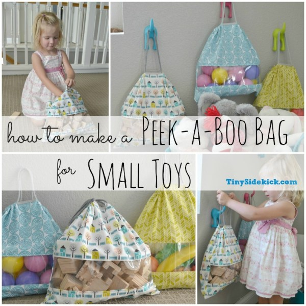 Peekaboo Bag - Storage Solution for Small Toys