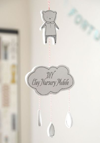 Clay Nursery Mobile