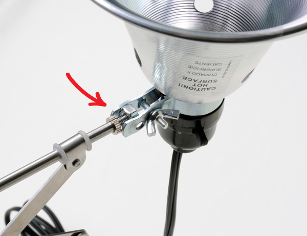 DIY ball joint using hex nut on frack mirror