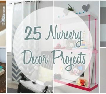 25 Nursery Decor Projects