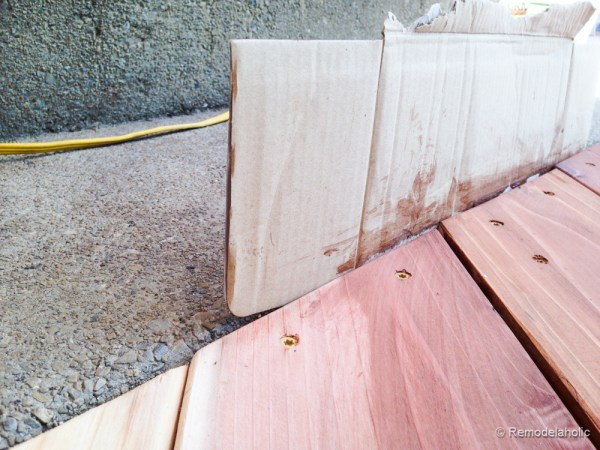 Tips for how to stain a deck @remodelaholic (1 of 2)