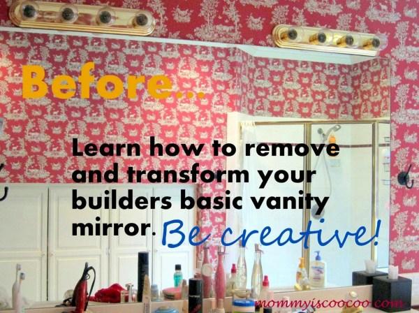 before vanity mirror