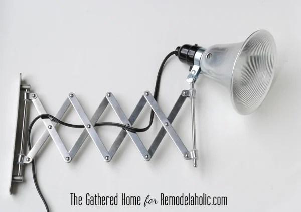 diy accordion lamp ikea frack mirror