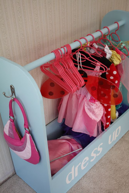 diy dress-up storage, Craftiness is Not Optional