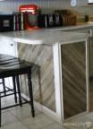 add reclaimed wood planks