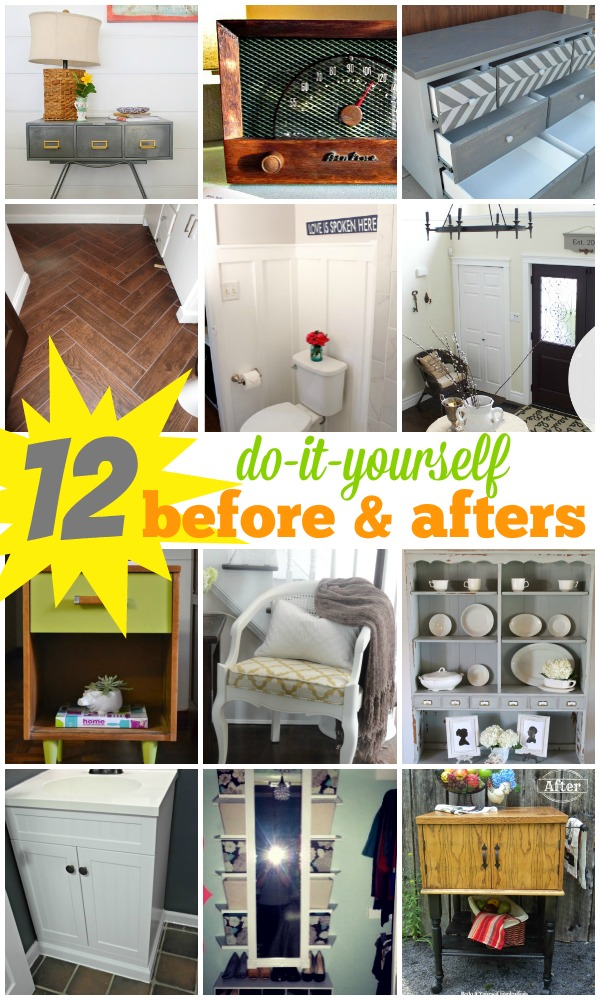 Remodelaholic 12 Diy Before And Afters September Link