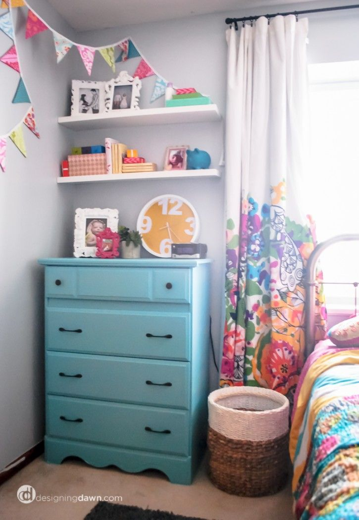 Designing Dawn girl room
