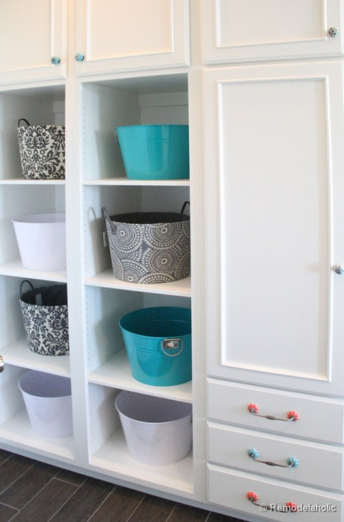 Double Laundry and Crafting Room Fabulous Laundry room design ideas from @Remodelaholic (41 of 103)