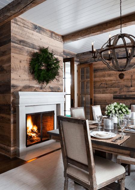 cozy dining in autumn