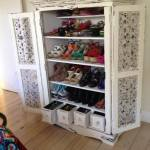 from Kellie - shoe storage