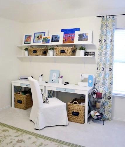 organized craft room 1