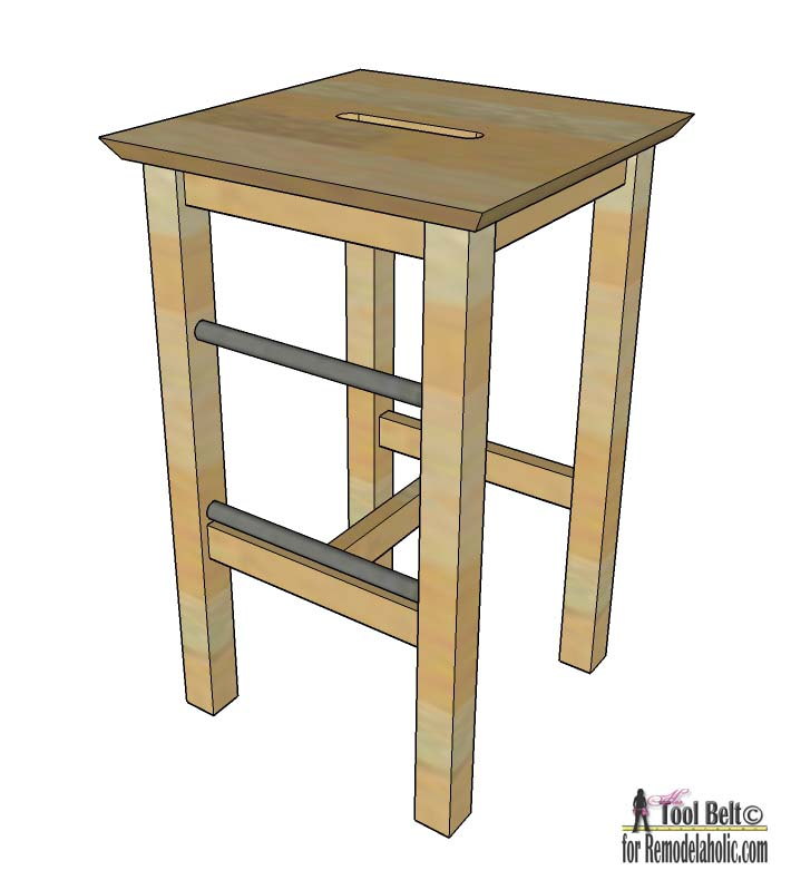 Easily Build Your Own DIY Bar Stools With These Free Plans On  Remodelaholiccom26