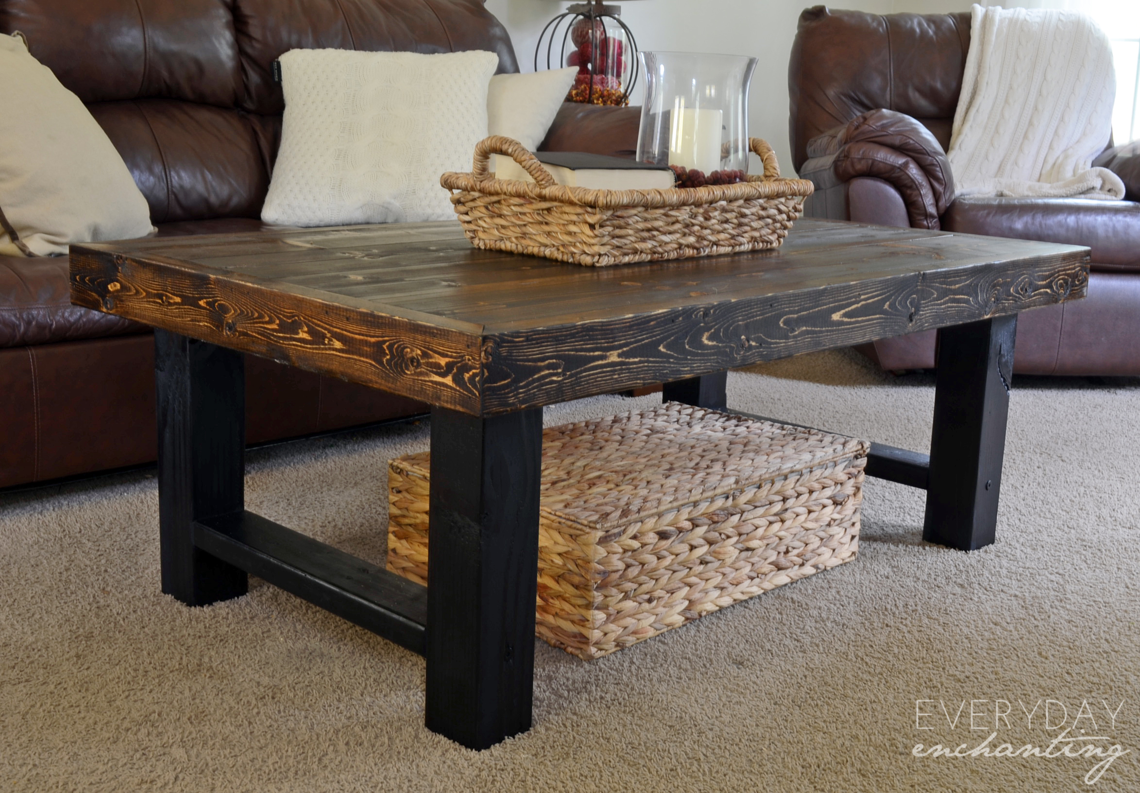 Birch Plywood Coffee Table