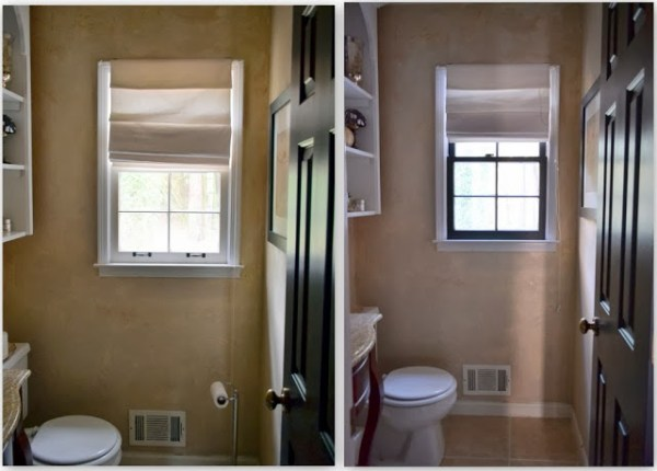 Design OCD - black painted window mullions via @Remodelaholic