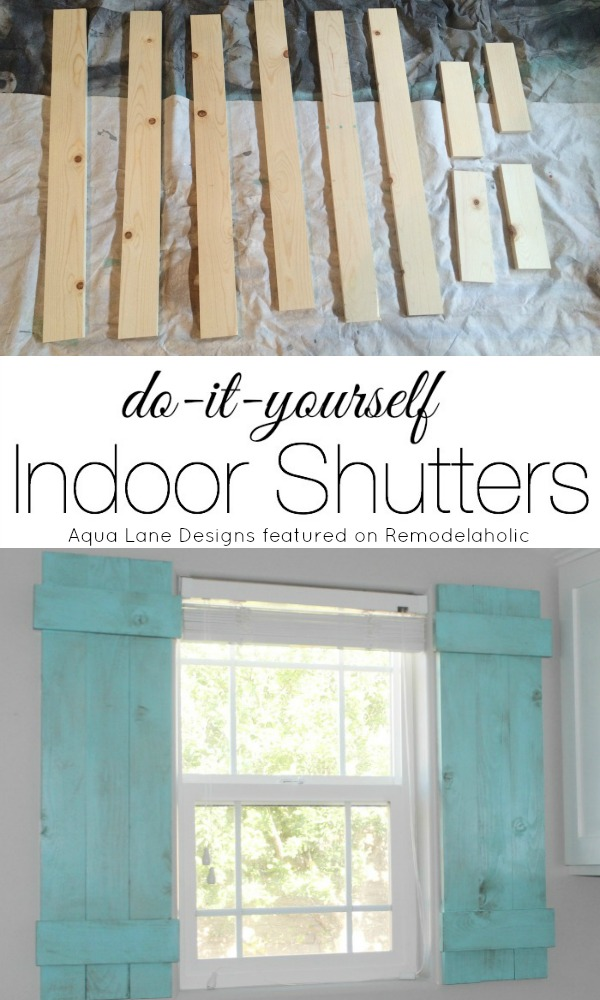 Remodelaholic diy interior window shutters for under 20 tutorial how to build indoor shutters aqua lane designs on remodelaholic solutioingenieria