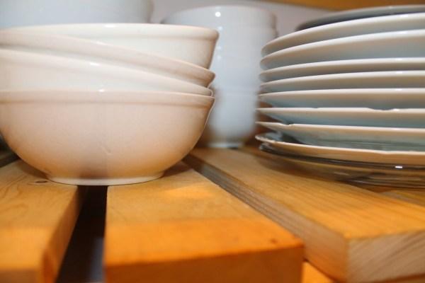 detail of diy wood slat pantry shelving, Girl Meets Carpenter on @Remodelaholic
