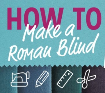How to Make and Install a Roman Blind