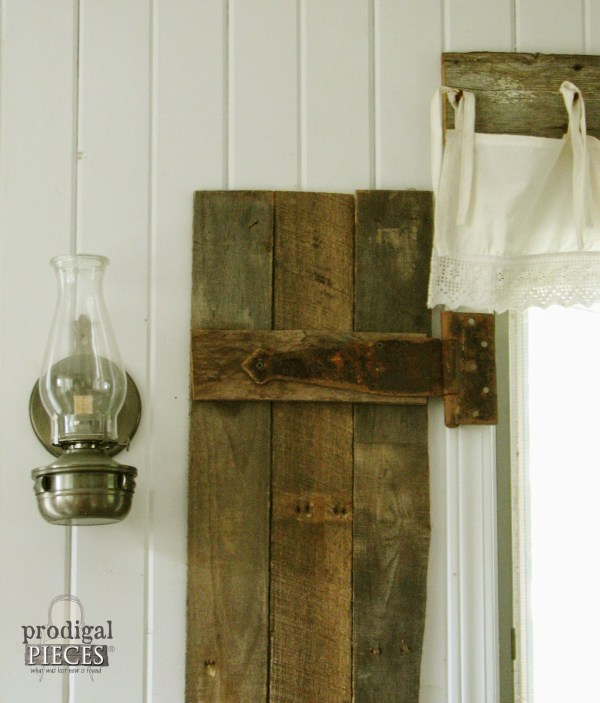 interior barn wood shutter tutorial, Prodigal Pieces on Remodelaholic