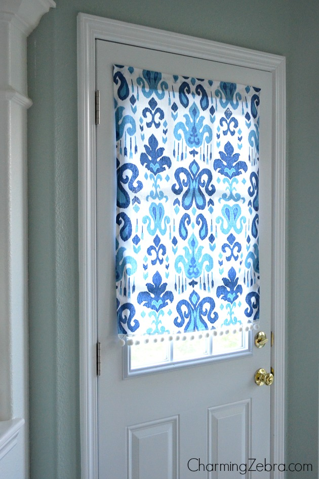 no sew magnetic window covering