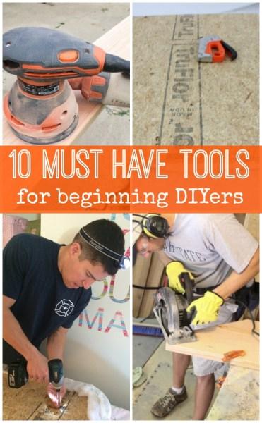 DIY tools Pinterest