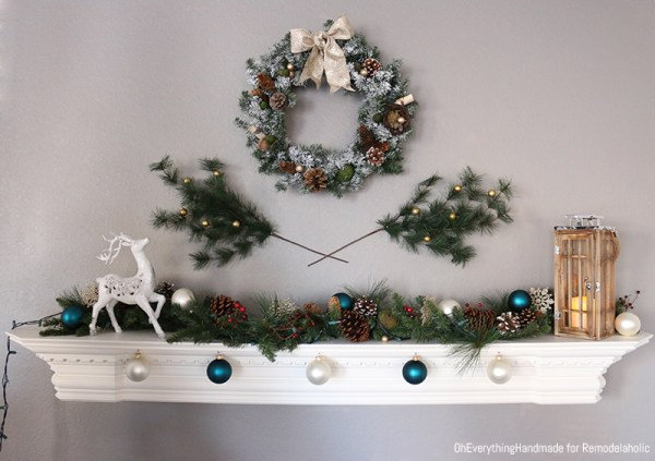 How to make an aroma scented wreath for the holidays Fireplace