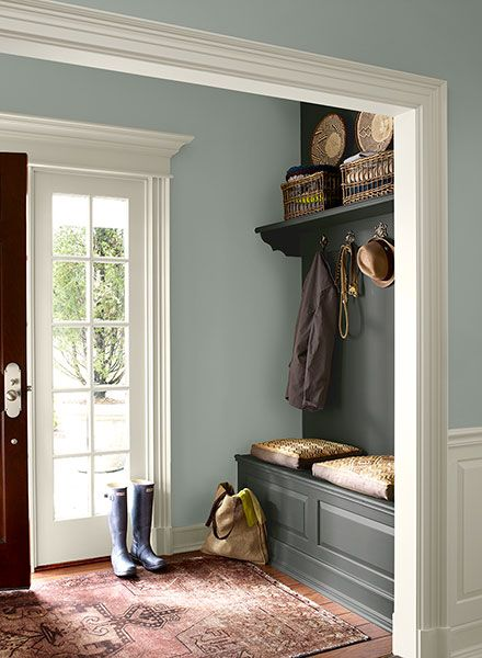 Stephanie Kraus Designs Blue And White Living Room A: Favorite Entryway And Foyer Paint Colors