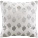Winter Whites Silver Pillow