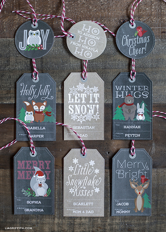 25 Free Colorful & Crafty Christmas Printables | Remodelaholic.com
