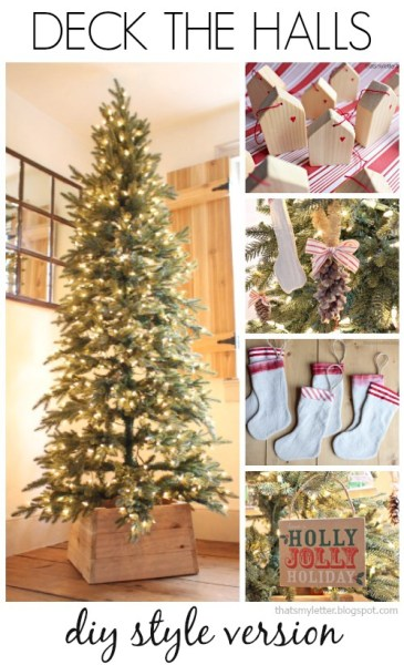 deck the halls collage