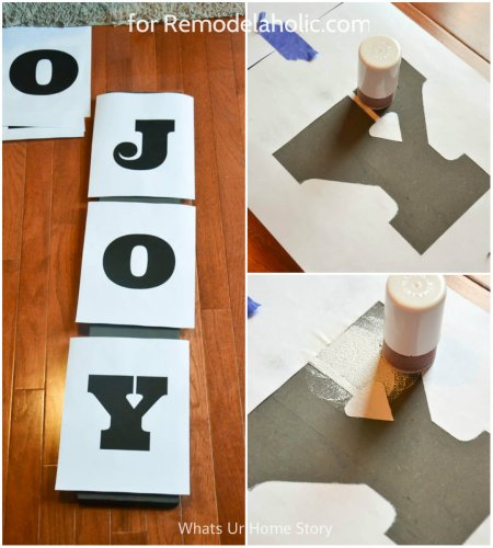 joy sign diy @Remodelaholic