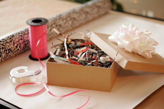shredded magazine box filler