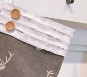 No Sew Stocking Tutorial