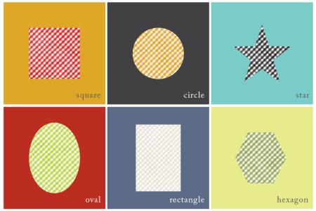 matching shapes printables