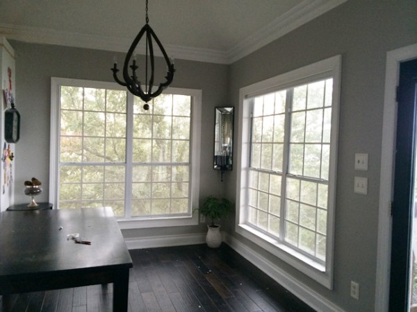 DIY window mullion grids - The Rozy Home featured on @Remodelaholic