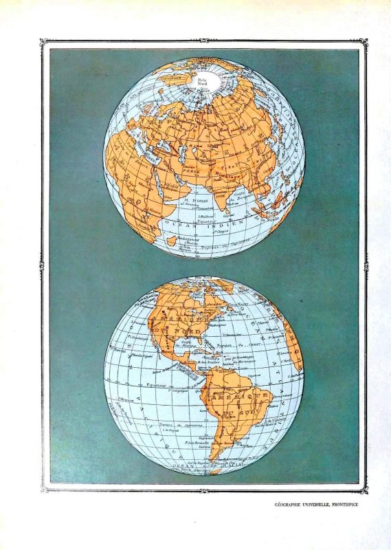 Vintage maps to download | Remodelaholic.com #art #printable #maps