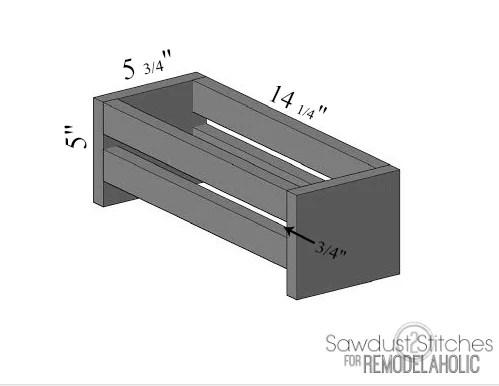 Ikea Organization Sawdust2stitches remodelaholic plans jpg