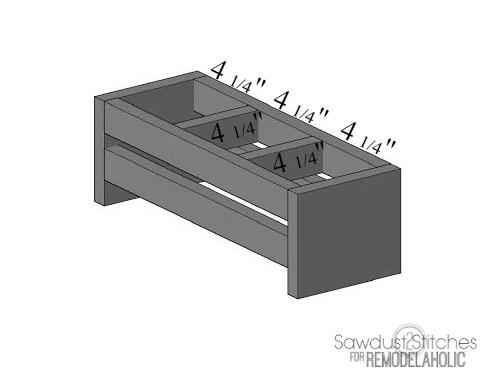 Ikea Storage Sawdust2stitches for remodelaholic  step 3