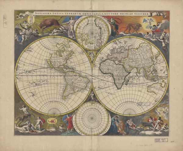20 Free Vintage Map images to download | Remodelaholic.com #art #printable #maps