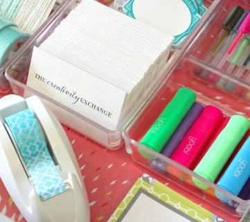 Quick Tricks for Organizing Desk Drawers