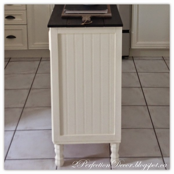 Adding legs to kitchen island04 by 2Perfection Decor featured on @Remodelaholic